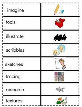 Journeys Unit 2 Third Grade Vocabulary Picture Match