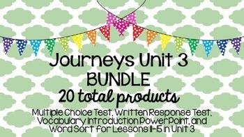 Journeys Unit 3 BUNDLE!