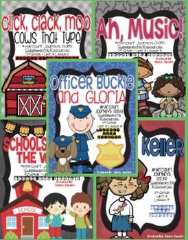Journeys Unit 3 Bundle - Second Grade Supplemental Materials