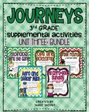 Journeys Unit 3 Bundle - Third Grade Supplemental Materials