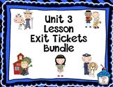 Journeys-Unit 3 Exit Tickets Bundle