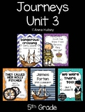Journeys Unit 3 (Fifth Grade)