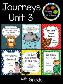 Journeys unit 3 stories teaching resources teachers pay teachers journeys unit 3 fourth grade fandeluxe Image collections