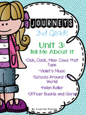 Journeys Unit 3 Grade 2 {Editable}