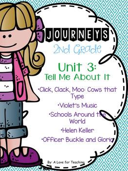 Journeys Unit 3 Grade 2 {Editable}