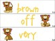 Journeys Unit 3 High Frequency Word Cards