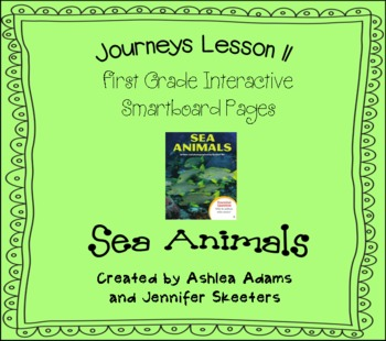 Journeys (2011-2012) Unit 3 Lesson 11 Smartboard First Grade