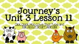 Journeys Unit 3 Lesson 11 Vocabulary Introduction PowerPoint