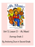 Journeys Unit 3, Lesson 12 Ah, Music! Smartboard Activity