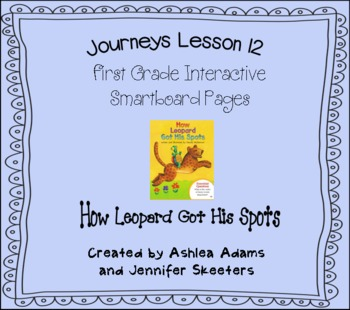 Journeys (2011-2012) Unit 3 Lesson 12 Smartboard First Grade
