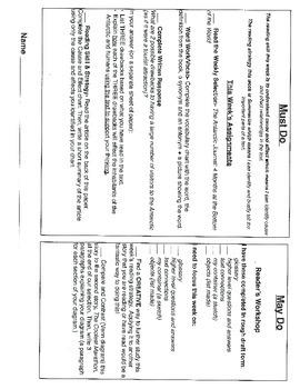 Journey's Unit 3 Lesson 13 Antarctic Journal