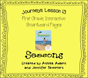 Journeys (2011-2012) Unit 3 Lesson 13 Smartboard First Grade
