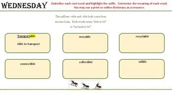 Journeys Unit 3 Lesson 14  (2017) Vocabulary Activities