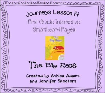 Journeys (2011-2012) Unit 3 Lesson 14 Smartboard First Grade