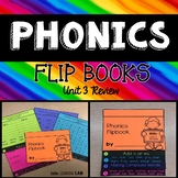 Journeys Unit 3 Review  | Phonics Flip Book