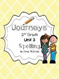 Journeys 2nd Grade Spelling Unit 3