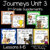 Journeys Unit 3 (Third Grade)
