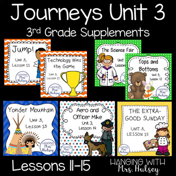 Journeys Unit 3 (Third Grade)