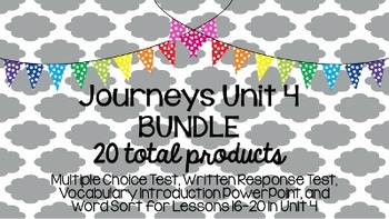 Journeys Unit 4 BUNDLE!