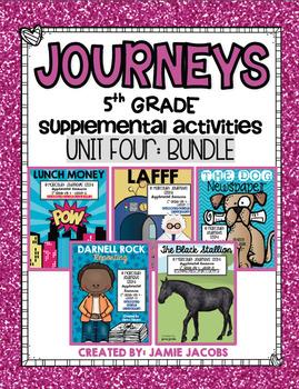 Journeys Unit 4 Bundle - Fifth Grade Supplemental Materials