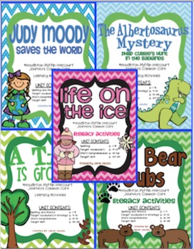Journeys Unit 4 Bundle - Third Grade Supplemental Materials