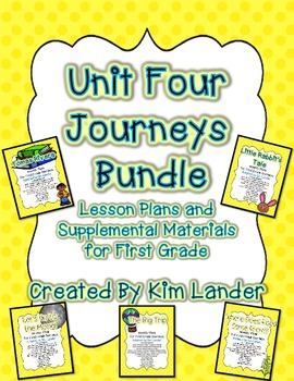 Journeys Unit 4 Bundle for First Grade