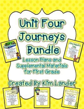 Journeys Unit 4 Bundle for First Grade