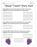Journeys- Unit 4: Decodable Reader Story Hunts