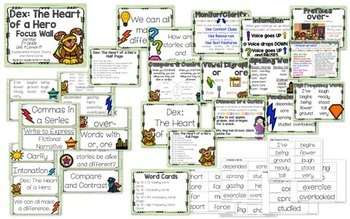 Journeys Unit 4 Focus Wall and Anchor Charts and Word Wall Cards