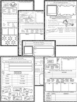 Journeys Unit 4 (Fourth Grade): Skill Practice Sheets