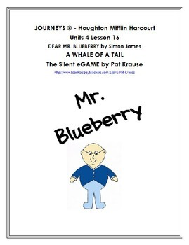 Long Vowel sounds with DEAR MR. BLUEBERRY by Simon James
