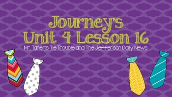 Journeys Unit 4 Lesson 16 Vocabulary Introduction Powerpoint