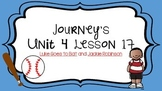 Journeys Unit 4 Lesson 17 Vocabulary Introduction PowerPoint