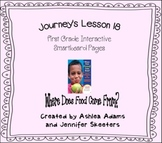 Journeys (2011-2012) Unit 4 Lesson 18 Smartboard First Grade
