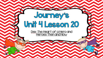 Journeys Unit 4 Lesson 20 Vocabulary Introduction Powerpoint