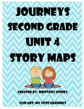 Journeys Unit 4 - Second Grade - Story Maps