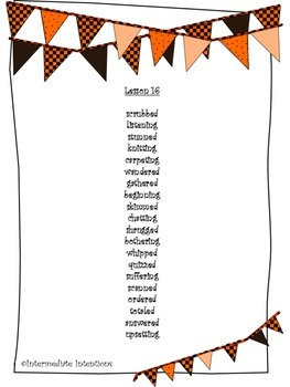 Journeys Unit 4 Spelling Lists - 5th Grade