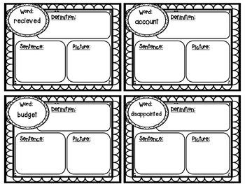 Journeys Unit 4 Spelling and Vocabulary Activity Pack