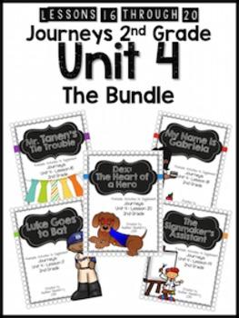 Journeys 2nd Grade Unit 4: The Bundle