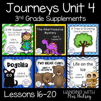 Journeys Unit 4 (Third Grade)