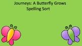 Journeys Unit 5 A Butterfly Grows Spelling sort