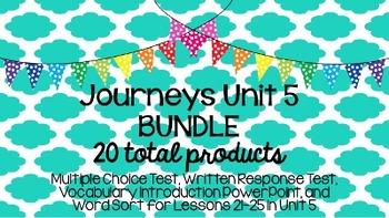 Journeys Unit 5 BUNDLE!