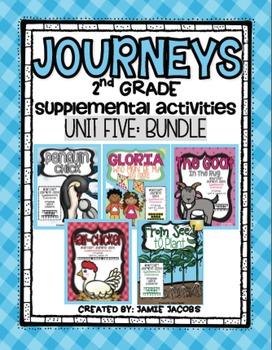 Unit 5 Bundle - Second Grade Supplemental Materials