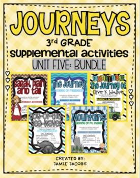 Journeys Unit 5 Bundle - Third Grade Supplemental Materials