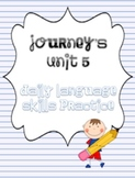 Journey's Unit 5 Daily Language