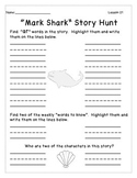 Journeys- Unit 5: Decodable Reader Story Hunts