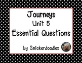 Journeys Unit 5 Essential Questions