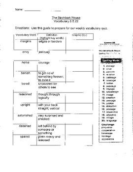 Journeys Unit 5 Fridge Sheet