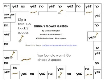 """Will my Garden Grow? Silent """"e"""" Game"""