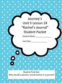 Journey's 5th Grade Unit 5 Lesson 24